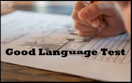 top characteristics of good language test