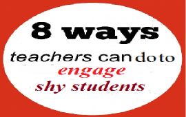 how to engage shy students in EFL speaking tasks