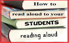 how to read aloud to your students