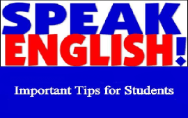 tips for students to speak English well