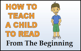 teach a child to read from the beginning