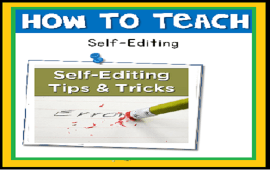 teaching students to self-edit their writing