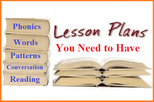 lesson plans you need to have