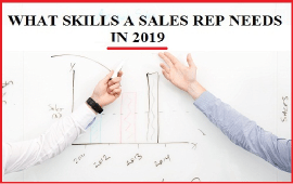 skills needed in a sales rep