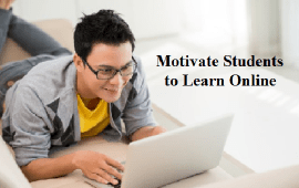motivate students to learn online