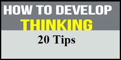 tips to develop thinking in the classroom