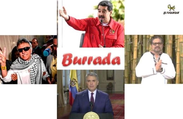 Duque-burrada-santrich-marquez-maduro