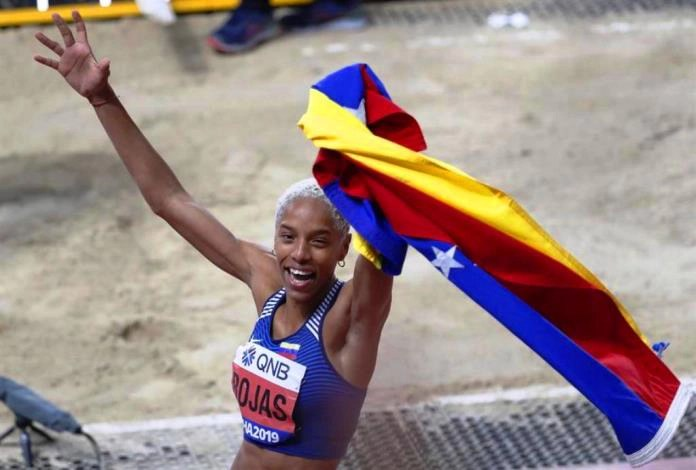 Yulimar Rojas Campeona Mundial Atletismo 2019