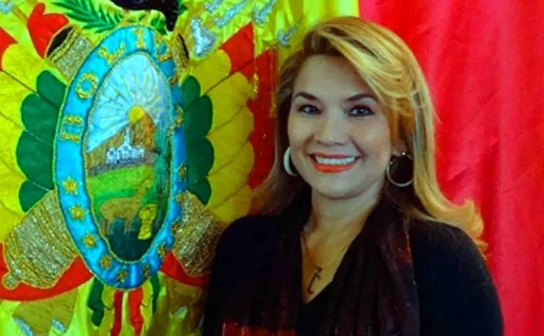 presidenta interina de Bolivia