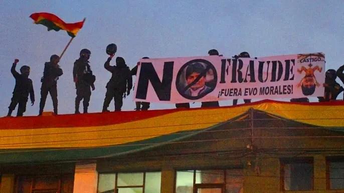 Se desmorona el narcorégimen de Evo Morales