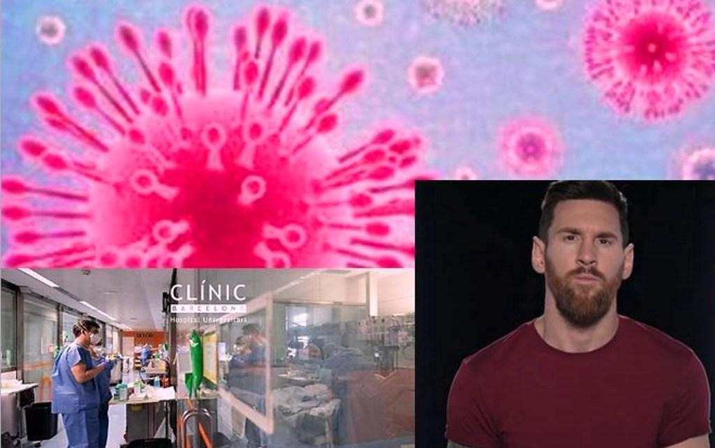 Leo Messi hizo una importante donación a dos hospitales por el COVID-19