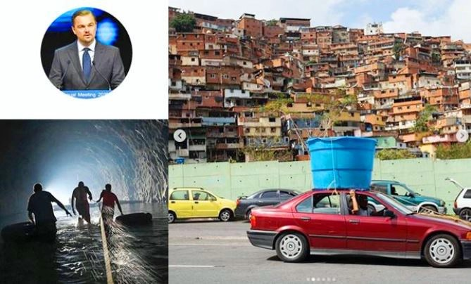 Leonardo Di Caprio expresa preocupación por crisis humanitaria en Venezuela