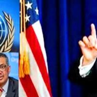 Formalizado ante el Congreso retiro de EEUU de la Organización Mundial de la Salud