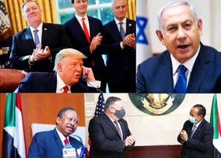 Trump anunció hoy que Sudán e Israel normalizarían relaciones bilaterales