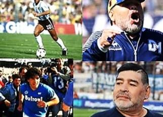 Maradona leyenda del fútbol y polémica persona murió