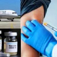 United Airlines habría comenzado a transportar vacunas de Pfizer contra COVID-19