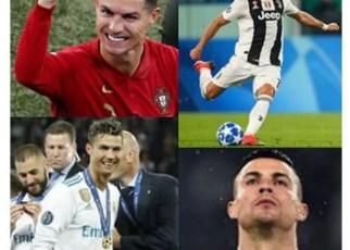 Cristino Ronaldo hombre récord