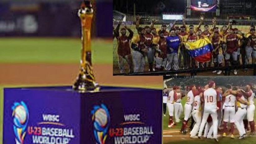 Venezuela Campeona Mundial de Besibol Sub-23