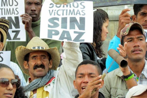 """Campesinos de Las Pavas: """"Somos víctimas sin paz"""" - Foto: Andrés Monroy Gómez"""