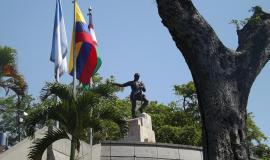 Monumento a Sebastián de Belalcazar de Cali, Colombia