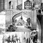 Ўрта Осиë кўргазмасидаги экспозиция. Рассом Сенцов асари. 1891 йил
