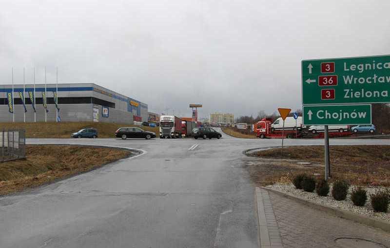 Przebudują skrzyżowanie koło Castoramy w Lubinie