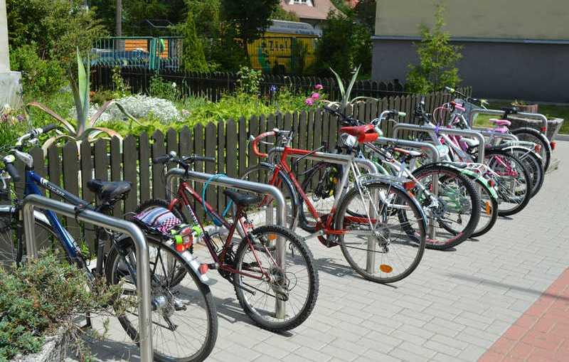 Rowerami ulicami miasta. Start spod hali RCS