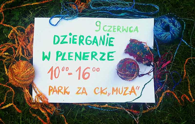 Światowy Dzień Dziergania w Plenerze