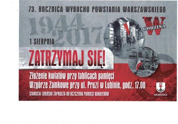 Zbliża się 73. rocznica wybuchu Powstania Warszawskiego