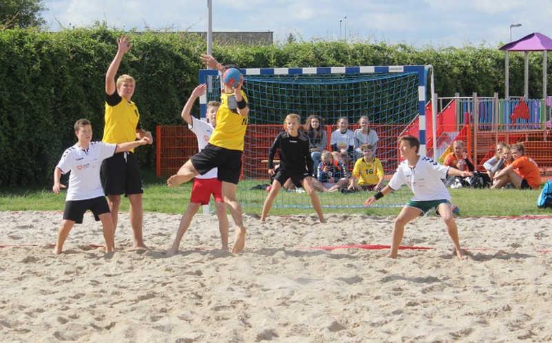 AKCJA LATO 2017-Plażowy Turniej Piłki Ręcznej