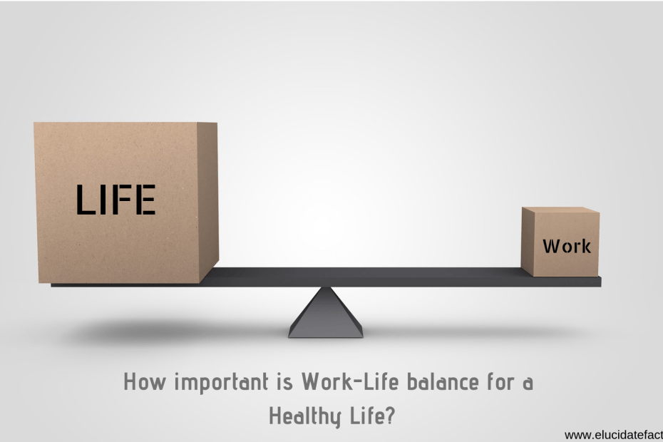 How important is Work-Life balance for a Healthy Life?