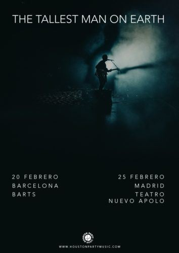 The Tallest Man On Earth actuará en Barcelona y Madrid