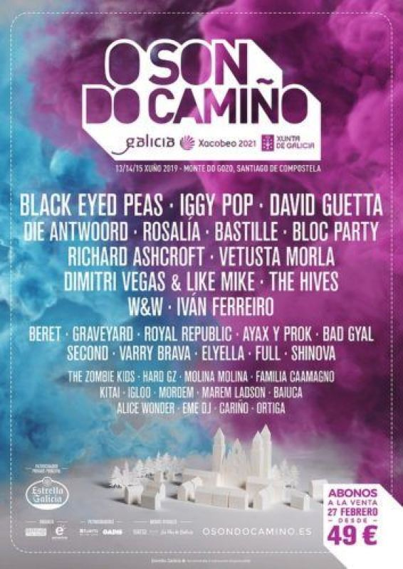 cartel o son do camiño 2019