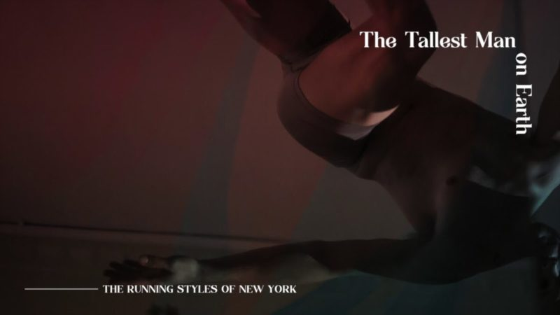 """The Tallest Man On Earth: """"The Running Styles Of New York""""   I Love You. It's A Fever Dream"""