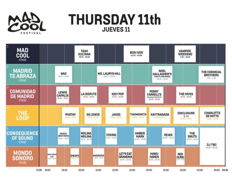 Mad Cool Festival 2022 3