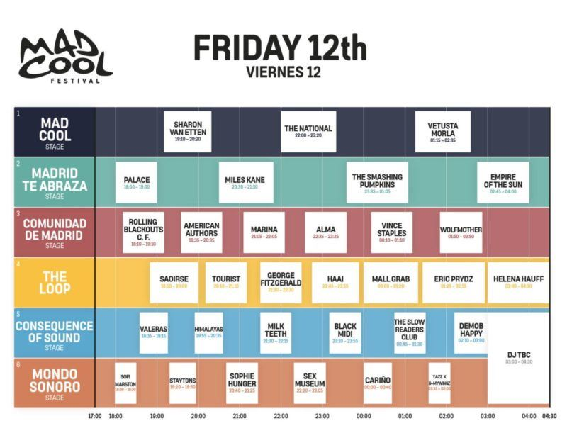 Mad Cool Festival 2022 4