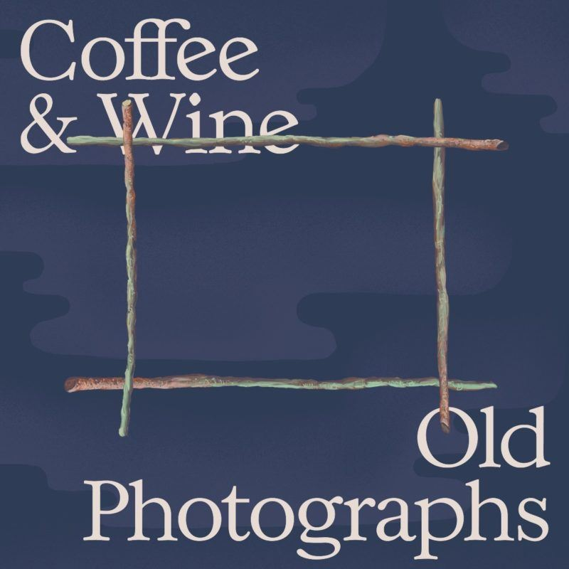 coffee & wine old photographs