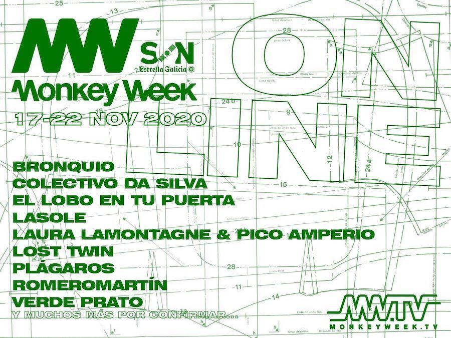monkey week 2020 cartel octubre