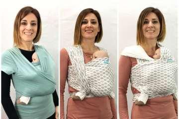 Comparativa entre camiseta portabebe y fular portabebe