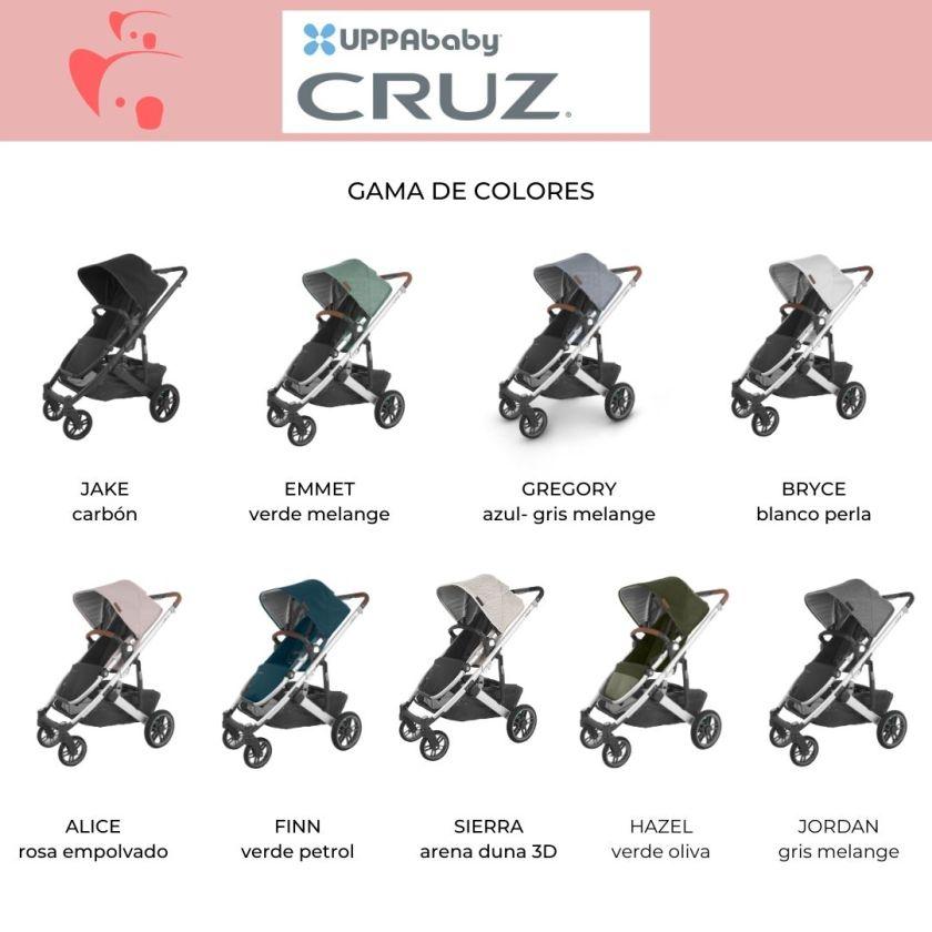 colores carrito UPPAbaby Cruz 2020