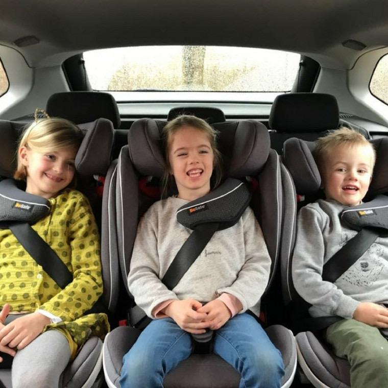 silla coche niños grupo 3 de máxima seguridad.