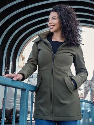 abrigo de porteo softshell wombat london