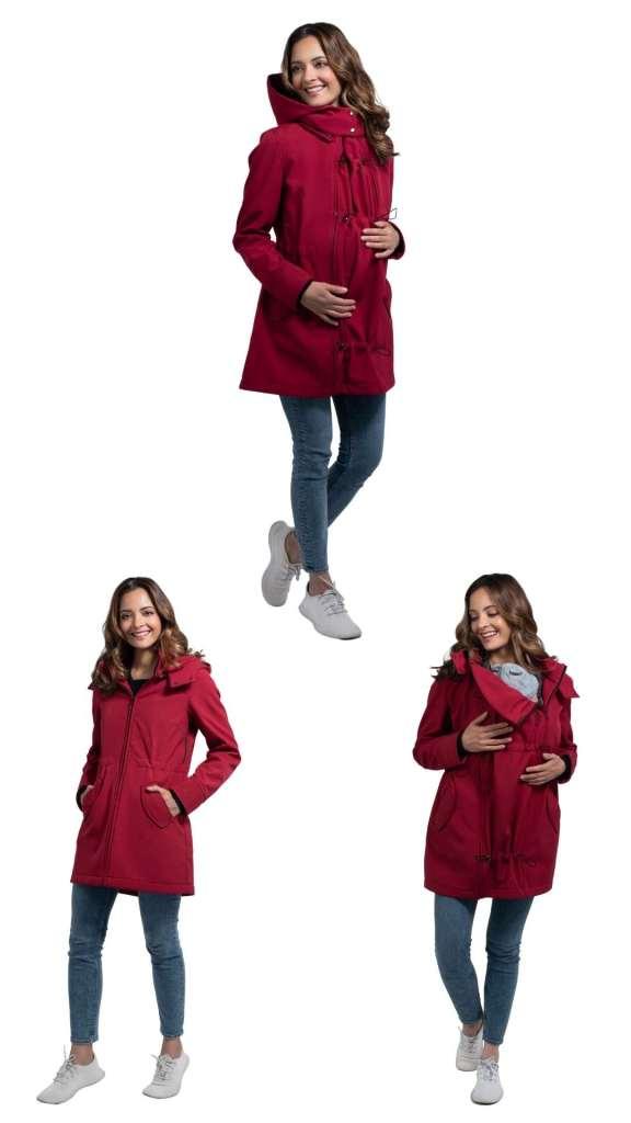 abrigo de porteo softshell