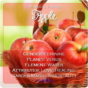 Apple Magical Meaning - Elune Blue