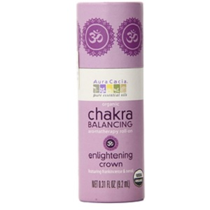 Crown Chakra Balancing Aromatherapy Roll On from Aura Cacia