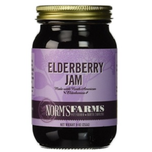 Elderberry Jam from Norms Farms