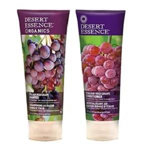 Italian Red Grape Shampoo from Desert Essence