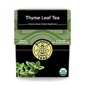 Thyme Leaf Tea Organic from Buddha Teas