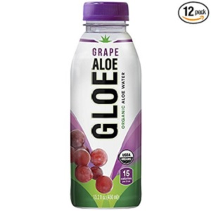 White Grape Organic Aloe Water from Aloe Gloe
