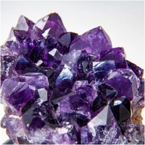 The Amethyst gem has the ability to calm the mind and soothe emotions. Within it lies energies that can ignite passion and creativity.